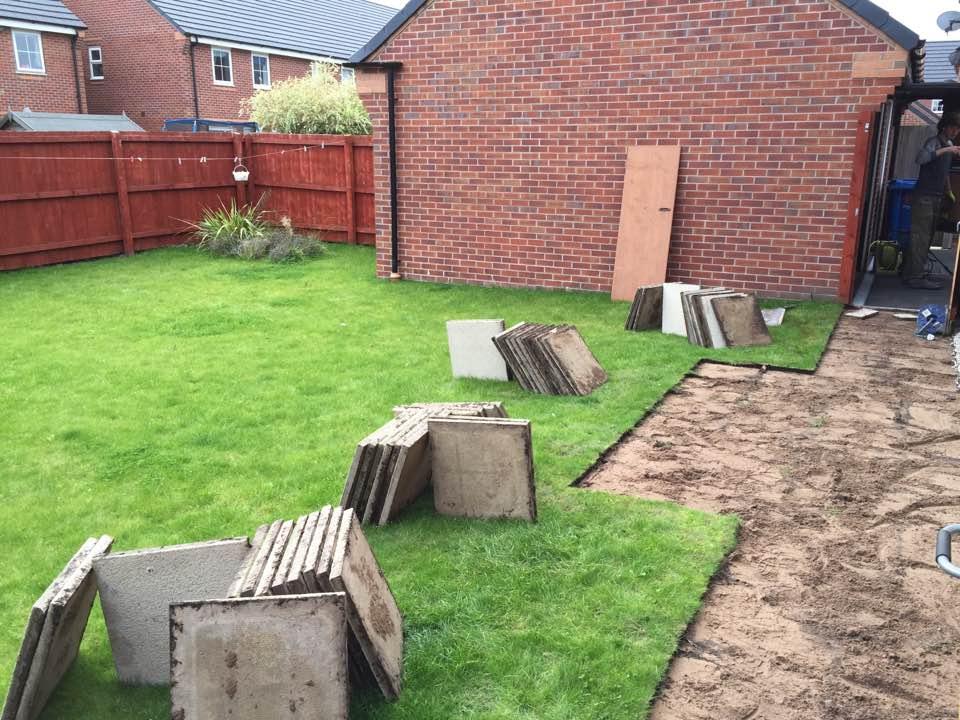 landscaping in chapelford estate warrington | Sound Garden Designs Warrington