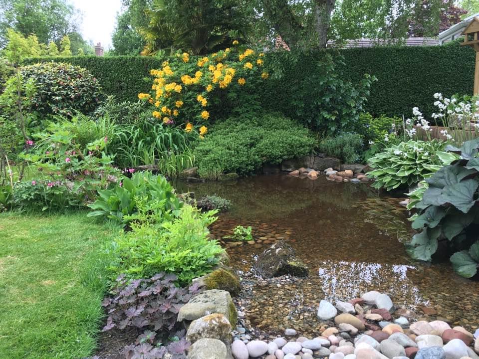 Water feature in Pennington Leigh | Sound Garden Designs ...